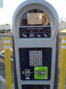 Vallejo Ferry Parking Lot Pay Machine